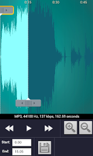 Mp3 Cutter & Ringtone Maker - screenshot thumbnail