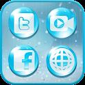 Raindrop icon style icon