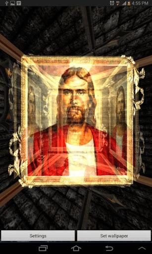 3D Jesus Live Wallpaper
