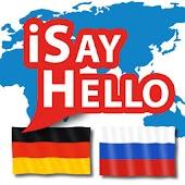iSayHello German - Russian