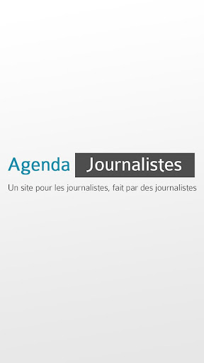 Agenda Journalistes