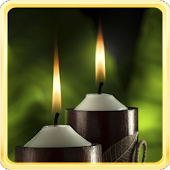 Spa Candle Live Wallpaper