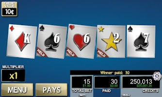 Screenshot of Hot Hand: Deuces Wild