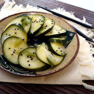 Vinegared Pickles – Cucumber Suzuke (すずけ)