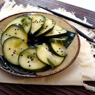 Vinegared Pickles – Cucumber Suzuke (すずけ).