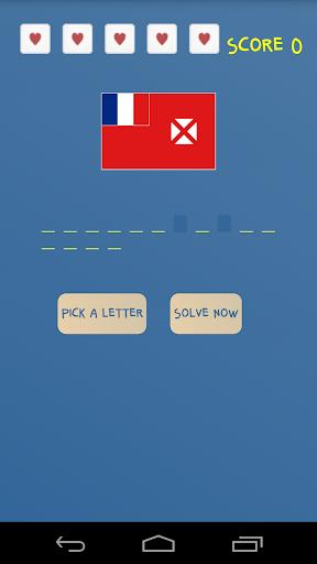 玩免費解謎APP|下載Flag Hangman app不用錢|硬是要APP