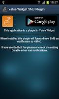 Screenshot of Yatse SMS Plugin