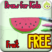 Draw for Kids, Fruit
