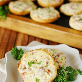 Ham & Cheese Bagel Bites