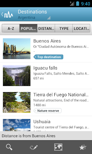Argentina Guide by Triposo