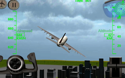 3D飛機飛行模擬器 plane sim