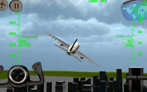 3Dの飛行機の飛行シミュレータ - Flight Sim