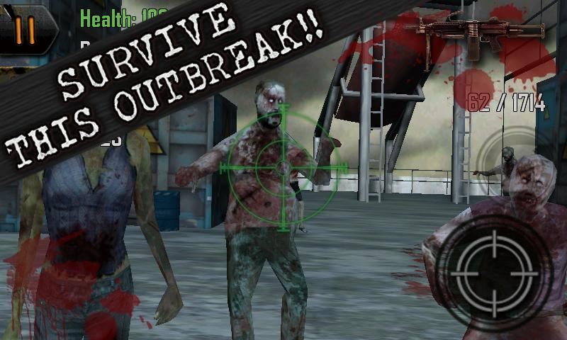 Dead Shot Zombies -OUTBREAK- - screenshot