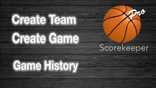 ScoreKeeper Basketball - Pro