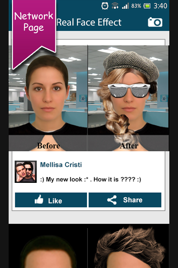 Face Changer : Face Effects - screenshot