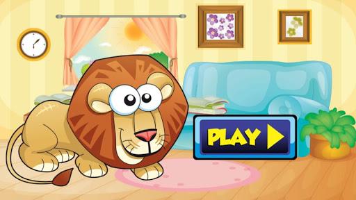Lion Kid Game for Preschool