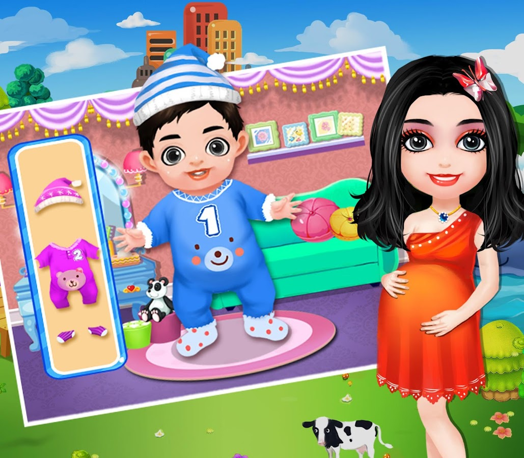 Mommy Newborn Baby Twins Apl Android Di Google Play