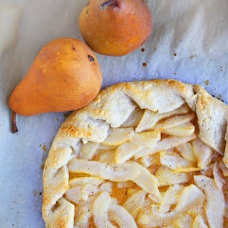 Rustic Pear Tart.