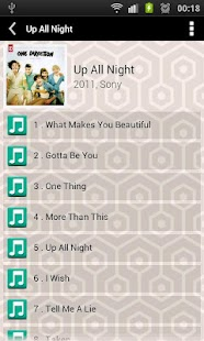 Letras de One Direction - screenshot thumbnail
