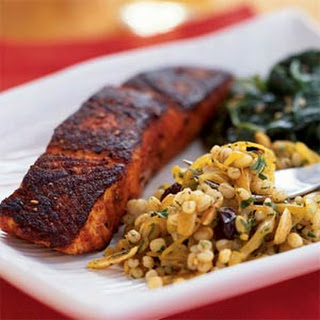 Cumin-Dusted Salmon Fillets.