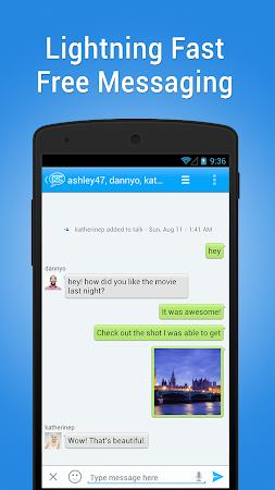 KeeChat Messenger - Free chats 1.5 screenshot 28126