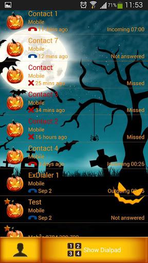 玩個人化App|ExDialer Halloween免費|APP試玩