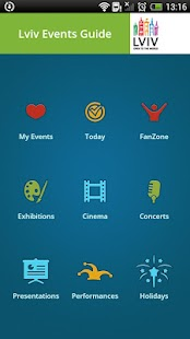 Lviv Events Guide- screenshot thumbnail