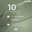 XPERIA™ Theme: SilverGreen icon