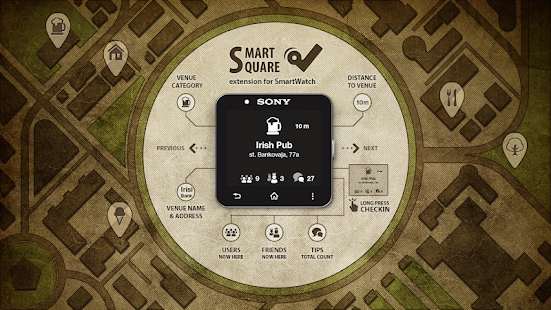 玩生活App|SmartSquare for SmartWatch 2免費|APP試玩