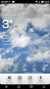 Weather BZ screenshot 2