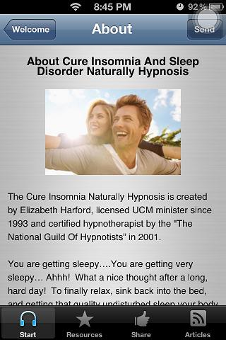 Cure Insomnia Sleep Disorder