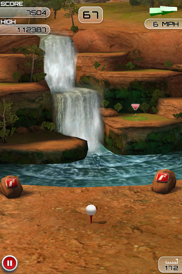 Flick Golf Extreme- screenshot