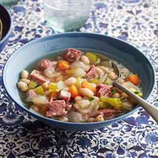Ham & Bean Stew.