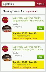 SuperValu - screenshot thumbnail