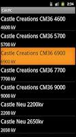 Screenshot of Calc RC
