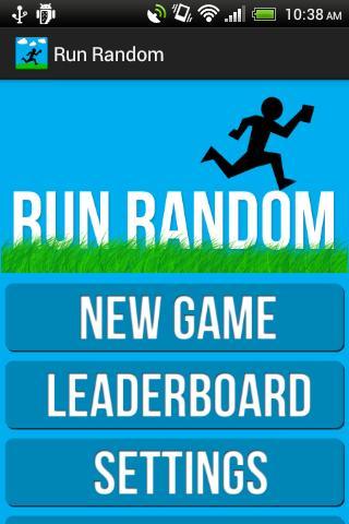 Run Random