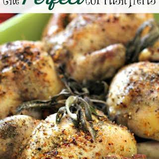Lemon Pepper Cornish Hen Recipes.