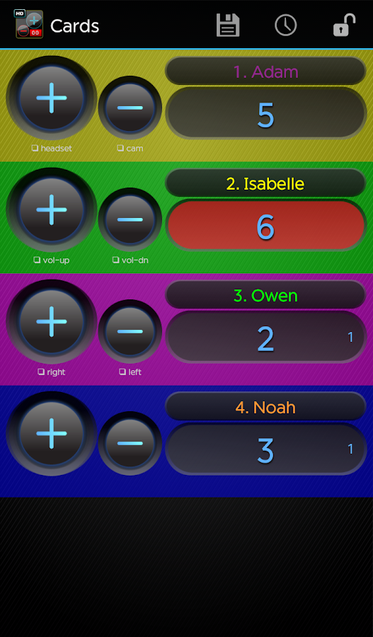 Advanced Tally Counter Pro- screenshot