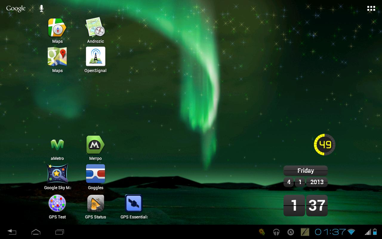 Aurora Borealis LWP Free - screenshot