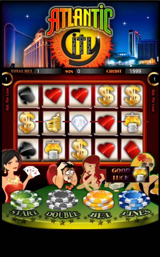 Atlantic City Slot Machine HD- screenshot