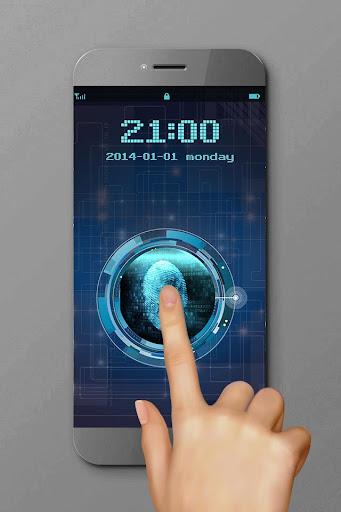 Phone6 Plus-Fingerprint Lock