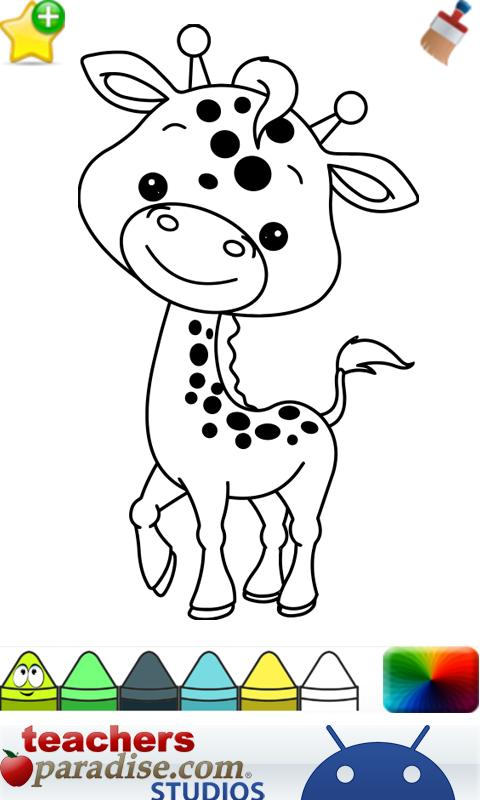 baby animals coloring book screenshot - Animals Coloring Book