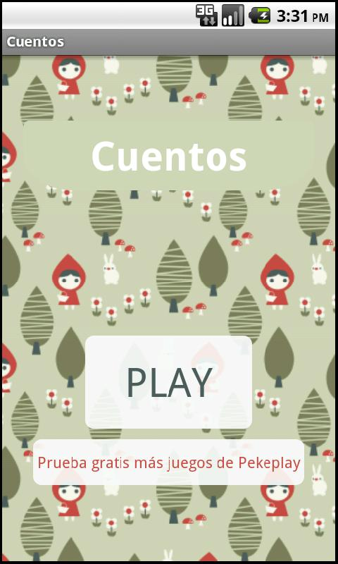 Cuentos- screenshot