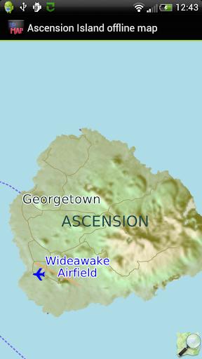 Ascension Island offline map