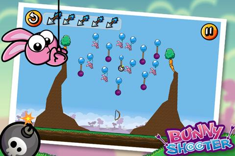 Bunny Shooter Free Funny Archery Game screenshot