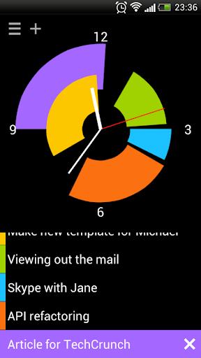 Pie Clock
