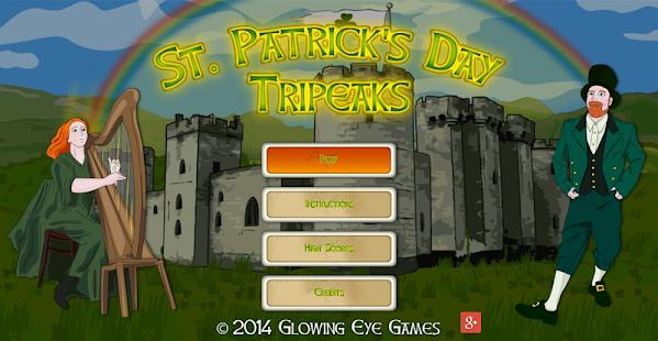 St. Patrick's Day Tripeaks