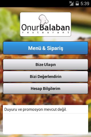 OnurBalaban Restaurant
