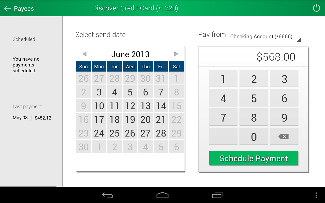 iGObanking Mobile- screenshot