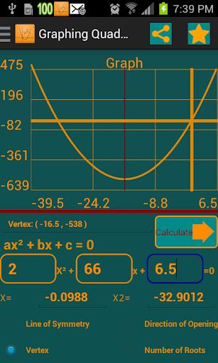 Graphing Quadratic
